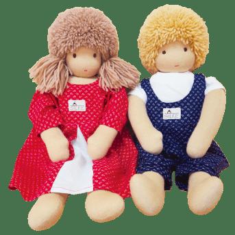 2体の人形